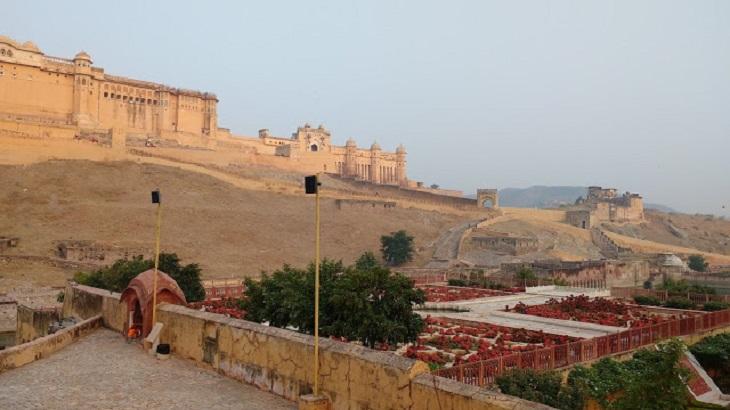 morning walk amer fort to jaigarh fort jaipur  offbeat