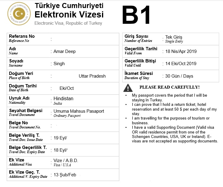 Turkey Visa for Indians - Application Requirements, Online Visa and Fees | Offbeat Explorers