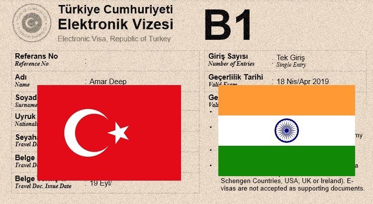 Turkey Visa For Indians Application Requirements Online Visa And Fees Offbeat Explorers